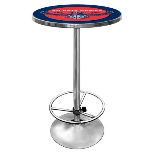Atlanta Hawks Chrome Pub Table