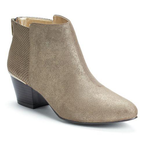 Jennifer Lopez Glitter Ankle Boots - Women