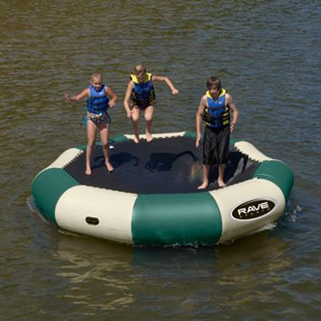 RAVE Sports Bongo 13-ft. Northwood's Water Bouncer