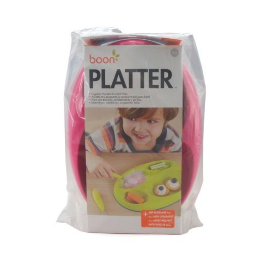 Boon 3-pk. Platter Edgeless Stay-Put Divided Plates