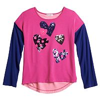 Design 365 Sequin Hearts Top - Toddler