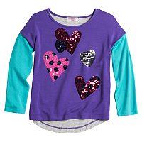 Design 365 Sequin Hearts Top - Toddler