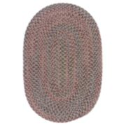 """Colonial Mills Woolux Braided Oval96"""" x120"""" Rug"""