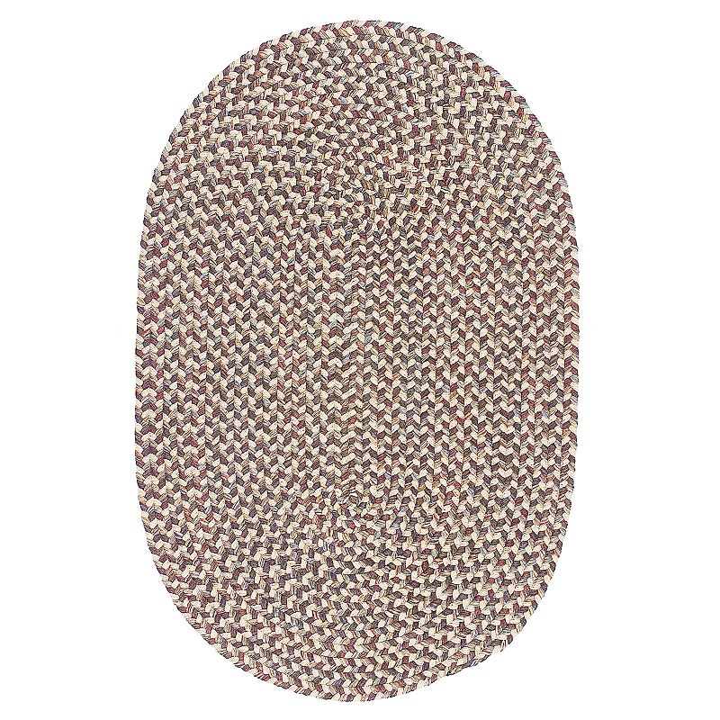 Colonial Mills Woolux Braided Oval 96 x 120 Rug, Beig/Green, 8X10FT OVL Product Image