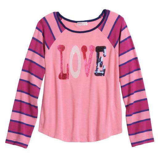Design 365 Love Striped Top - Toddler