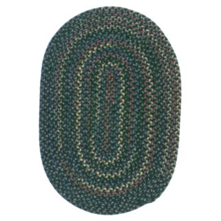 Colonial Mills Woolux Braided Oval 9 x 12 Rug