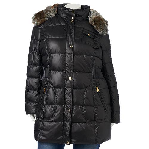 45eae58c5 Plus Size Apt. 9¨ Hooded Puffer Jacket