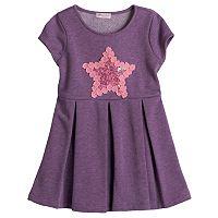 Design 365 Lace Star Skater Dress - Toddler