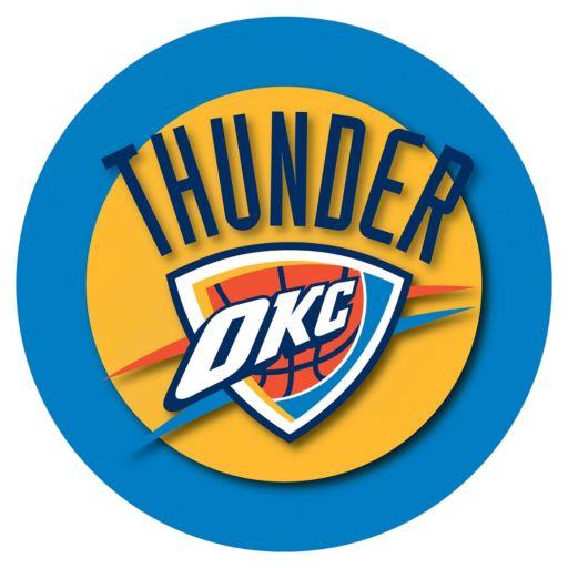 Oklahoma City Thunder Chrome Pub Table