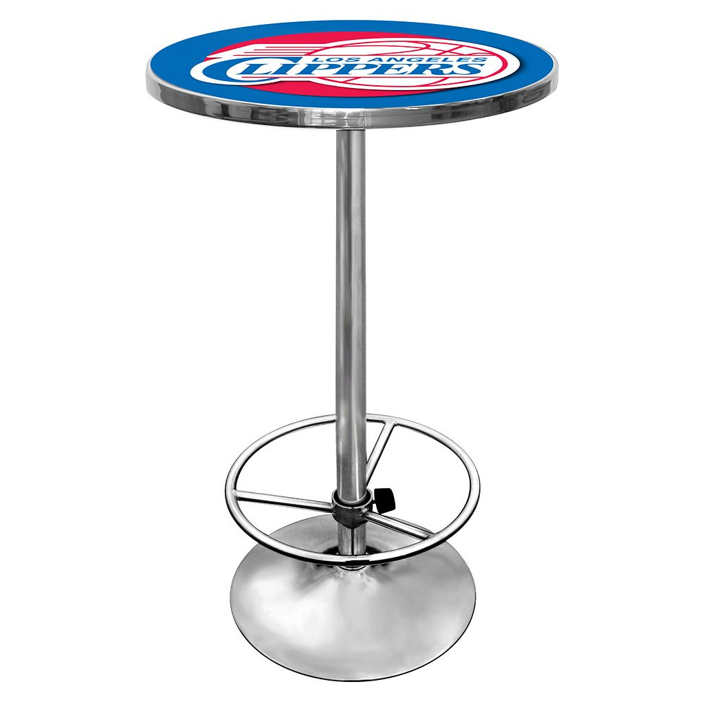Los Angeles Clippers Chrome Pub Table
