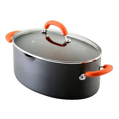 Rachael Ray 8-qt. Hard-Anodized Oval Stockpot