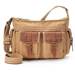 The Same Direction Leather Turtle Ridge Crossbody Bag