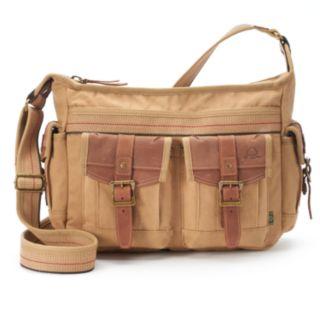 The Same Direction Leather Turtle Ridge Crossbody Bag