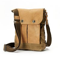 The Same Direction Vally River Leather Crossbody Bag