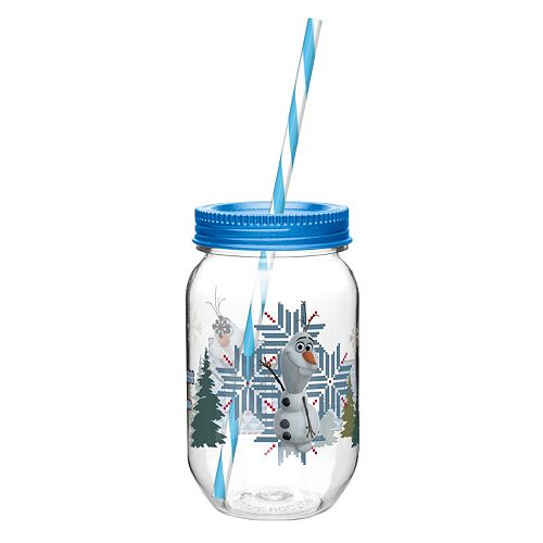 Zak Designs Disney Frozen Olaf 19-oz. Straw Tumbler