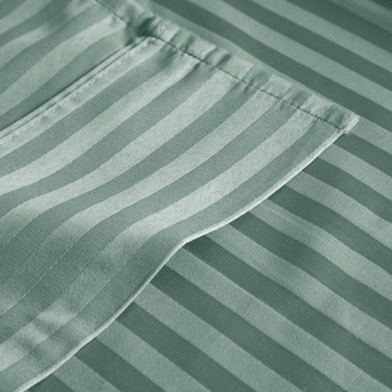 Elite Home Products Lindsey Stripe 300 Thread Count Sateen