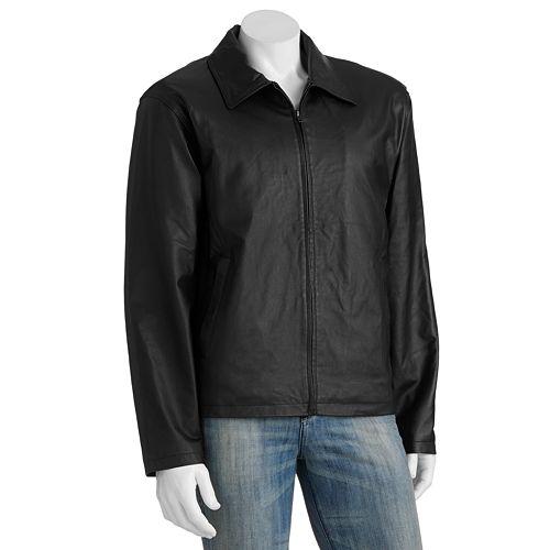 Big & Tall Vintage Leather Split Napa Leather Jacket