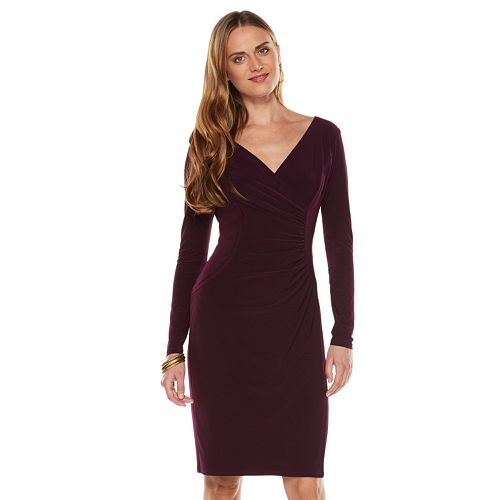 Plus Size Evening Dresses Kohls Purple Graduation Dresses