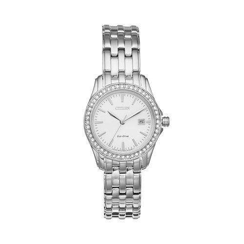 Citizen Women's Eco-Drive Silhouette Stainless Steel Watch - EW1901-58A