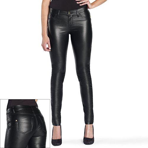 Rock & Republic® Kashmiere Faux-Leather Leggings - Women's