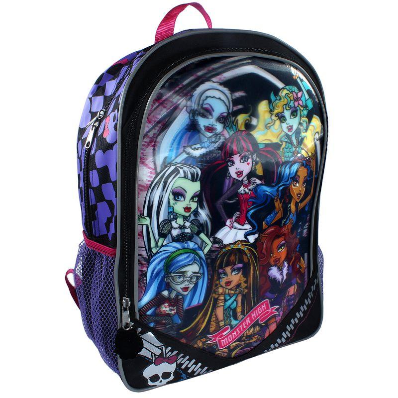 Monster High Lenticular Backpack - Kids
