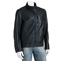 Big & Tall SONOMA Goods for Life™ Ribbed Faux-Leather Jacket