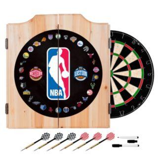 NBA Wood Dart Cabinet Set