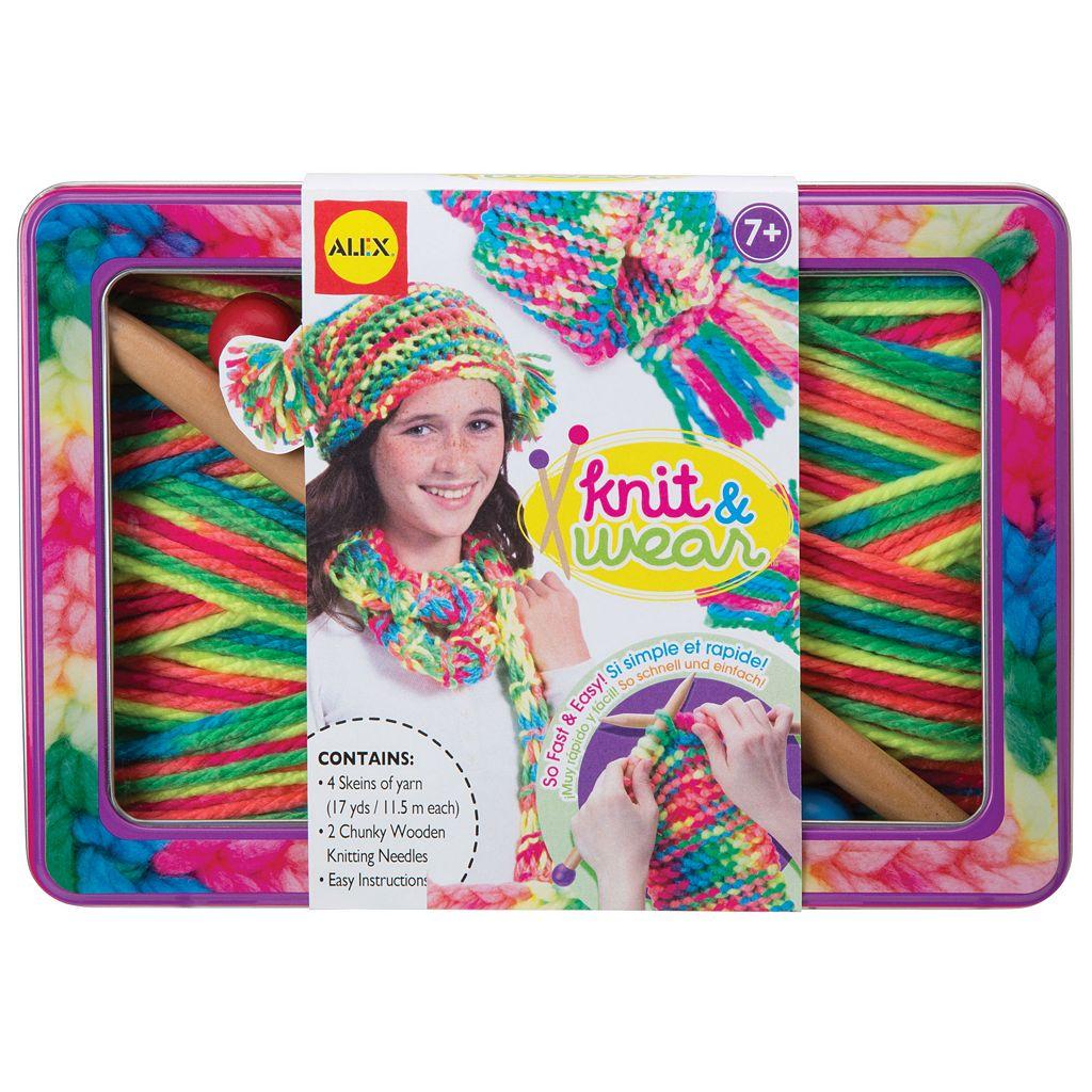 ALEX Knit & Wear Craft Set