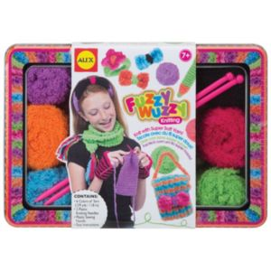 ALEX Fuzzy Wuzzy Knitting Craft Set
