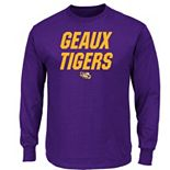 Section 101 by Majestic LSU Tigers Big Ambition Tee - Men