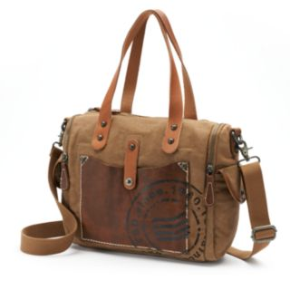 The Same Direction Super Horse Leather Convertible Satchel