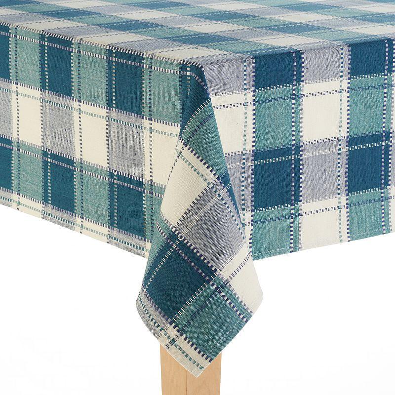 Food Network™ Cascina Plaid Cotton Tablecloth - 60'' x 102''