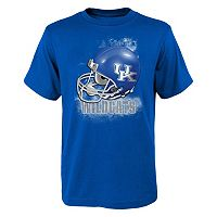 Boys 8-20 Kentucky Wildcats Helmet Tee