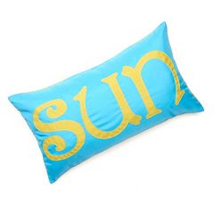 Edie Inc. 'Sun' Laser-Cut Indoor Outdoor Decorative Pillow