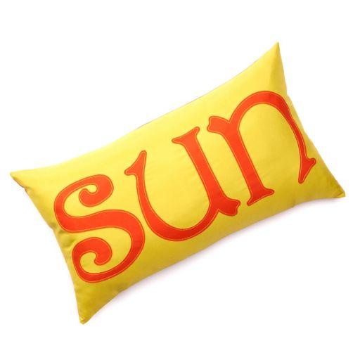 "Edie Inc. ""Sun"" Laser-Cut Indoor Outdoor Decorative Pillow"