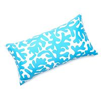 Edie, Inc. Coral Laser-Cut Indoor Outdoor Decorative Pillow