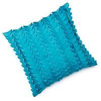 Edie Inc. Half Moon Laser-Cut Indoor Outdoor Decorative Pillow