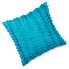 Edie Inc. Half Moon Laser-Cut Indoor Outdoor Decorative Pillow
