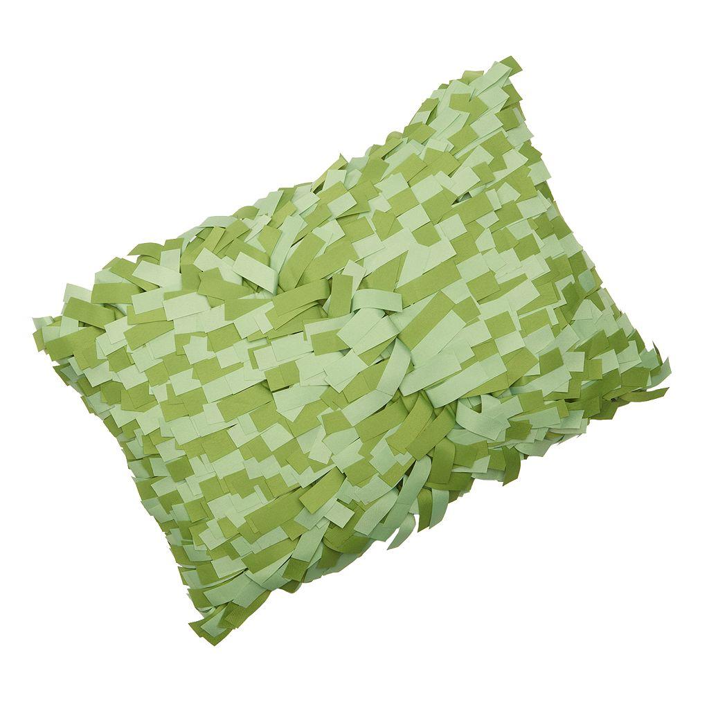 Edie, Inc. Palmera Laser-Cut Indoor Outdoor Decorative Pillow