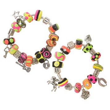 ALEX I Heart Charm Bracelets Craft Kit