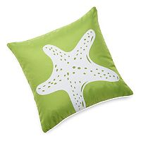 Edie, Inc. Starfish Laser-Cut Indoor Outdoor Decorative Pillow