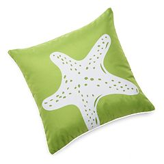 Edie Inc. Starfish Laser-Cut Indoor Outdoor Decorative Pillow