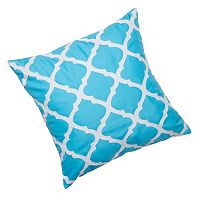 Edie, Inc. Lattice Laser-Cut Indoor Outdoor Decorative Pillow