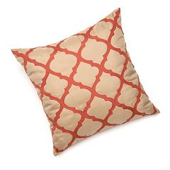 Edie Inc. Lattice Laser-Cut Indoor Outdoor Decorative Pillow