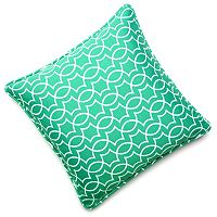 Edie Inc. Geo Trellis Indoor Outdoor Decorative Pillow - 20'' x 20''