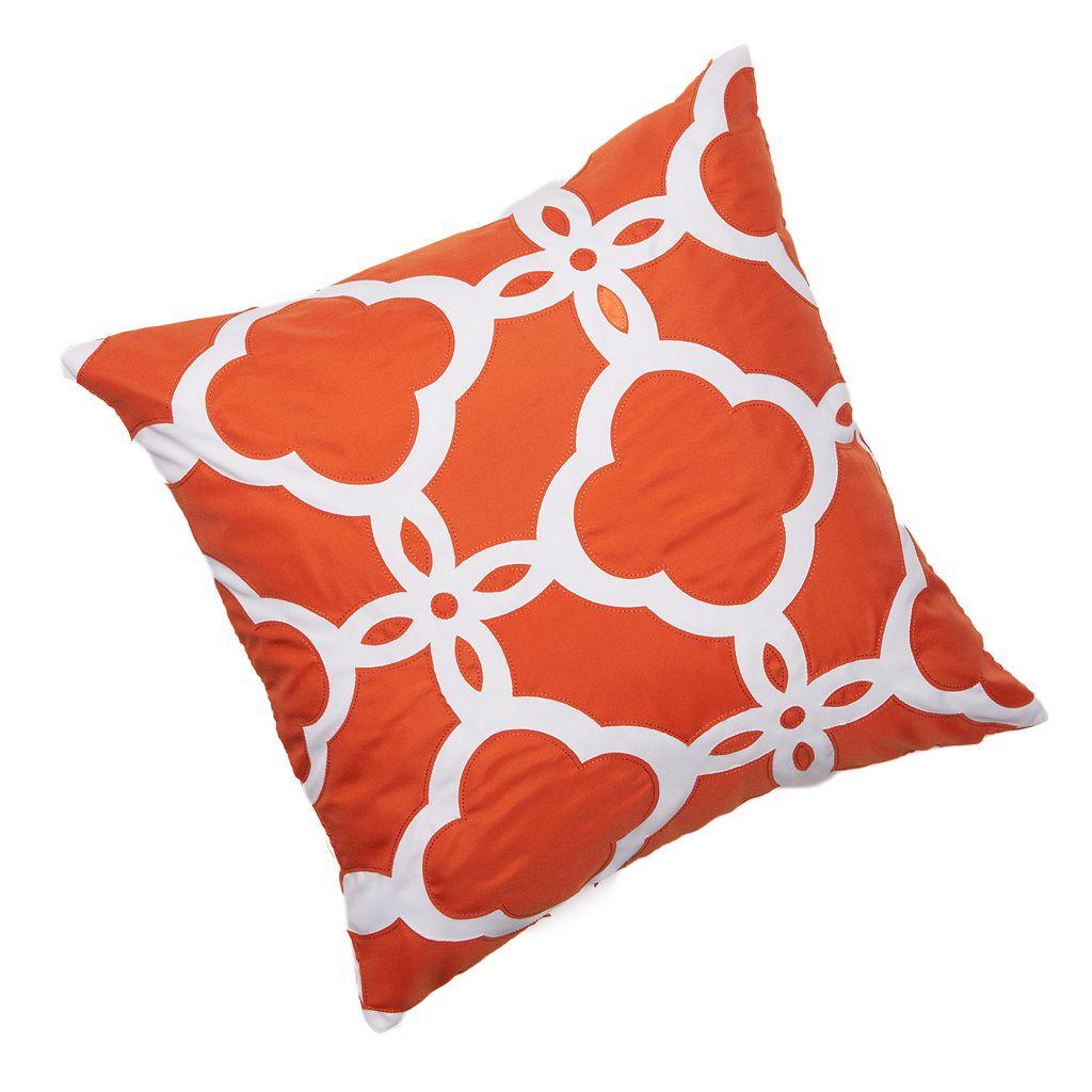 Edie, Inc. Geometric Indoor Outdoor Decorative Pillow