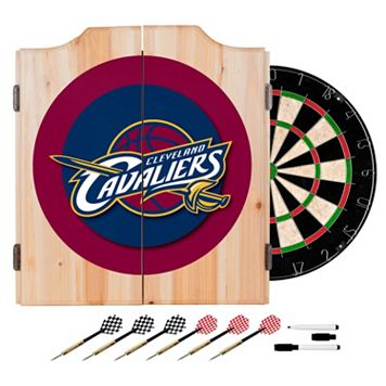 Cleveland Cavaliers Wood Dart Cabinet Set