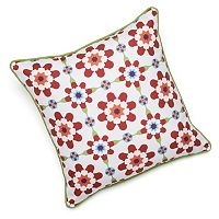 Edie, Inc. Floral Indoor Outdoor Decorative Pillow