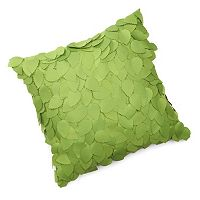 Edie, Inc. Dimensional Ivy Indoor Outdoor Decorative Pillow