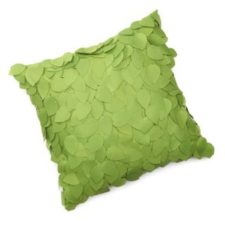 Edie Inc. Dimensional Ivy Indoor Outdoor Decorative Pillow